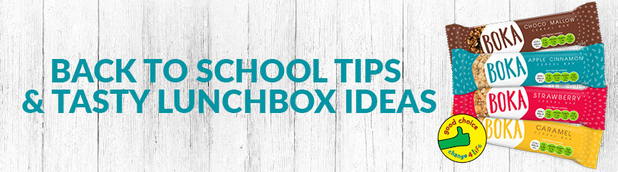 ​Back to School Tips & Tasty Lunchbox Ideas